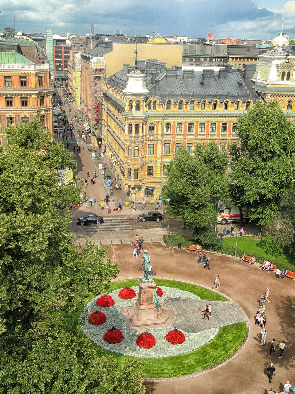 helsinki finland plaza free photo