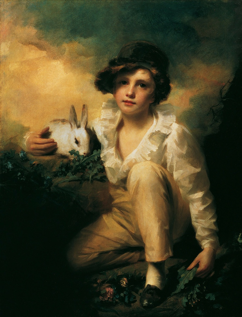 henry raeburn boy child free photo