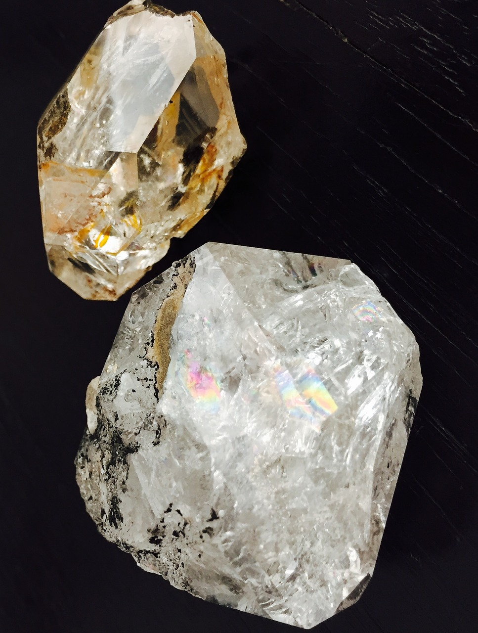 herkimer diamond quartz healing free photo