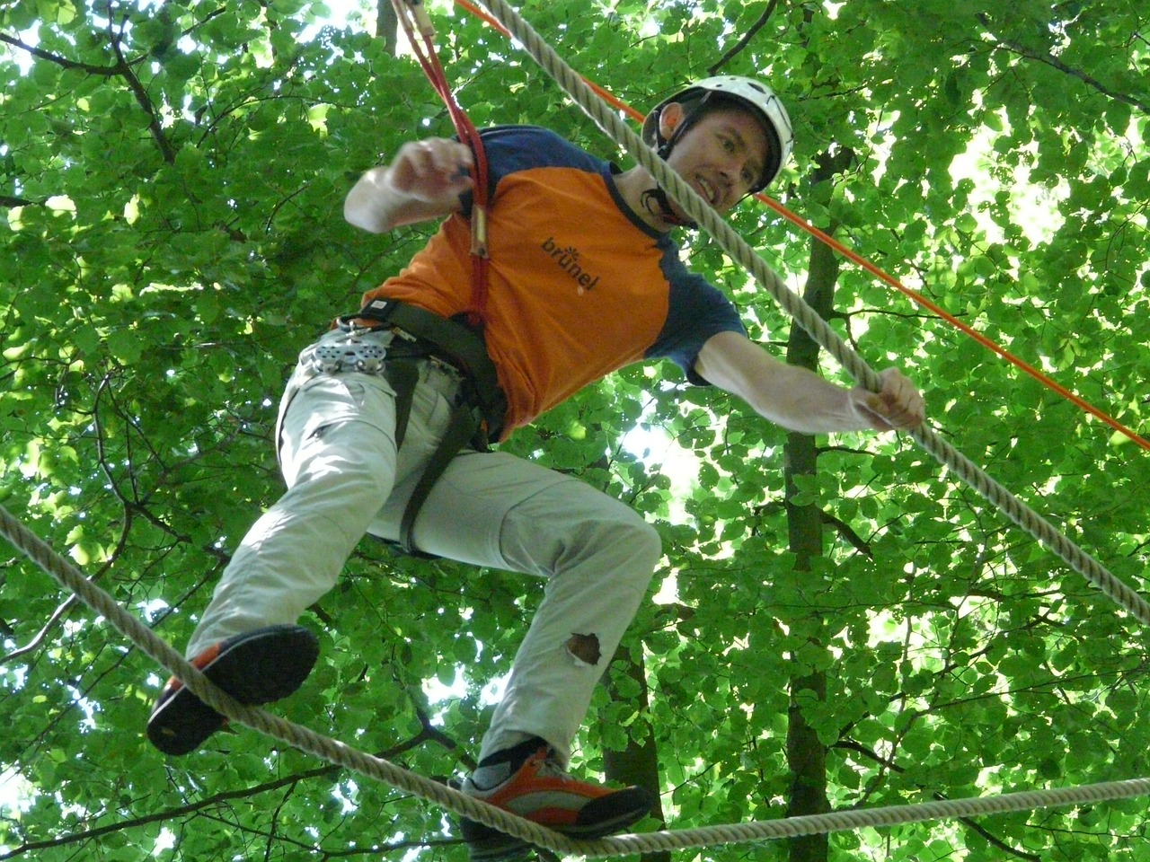 high ropes course balance voltage free photo