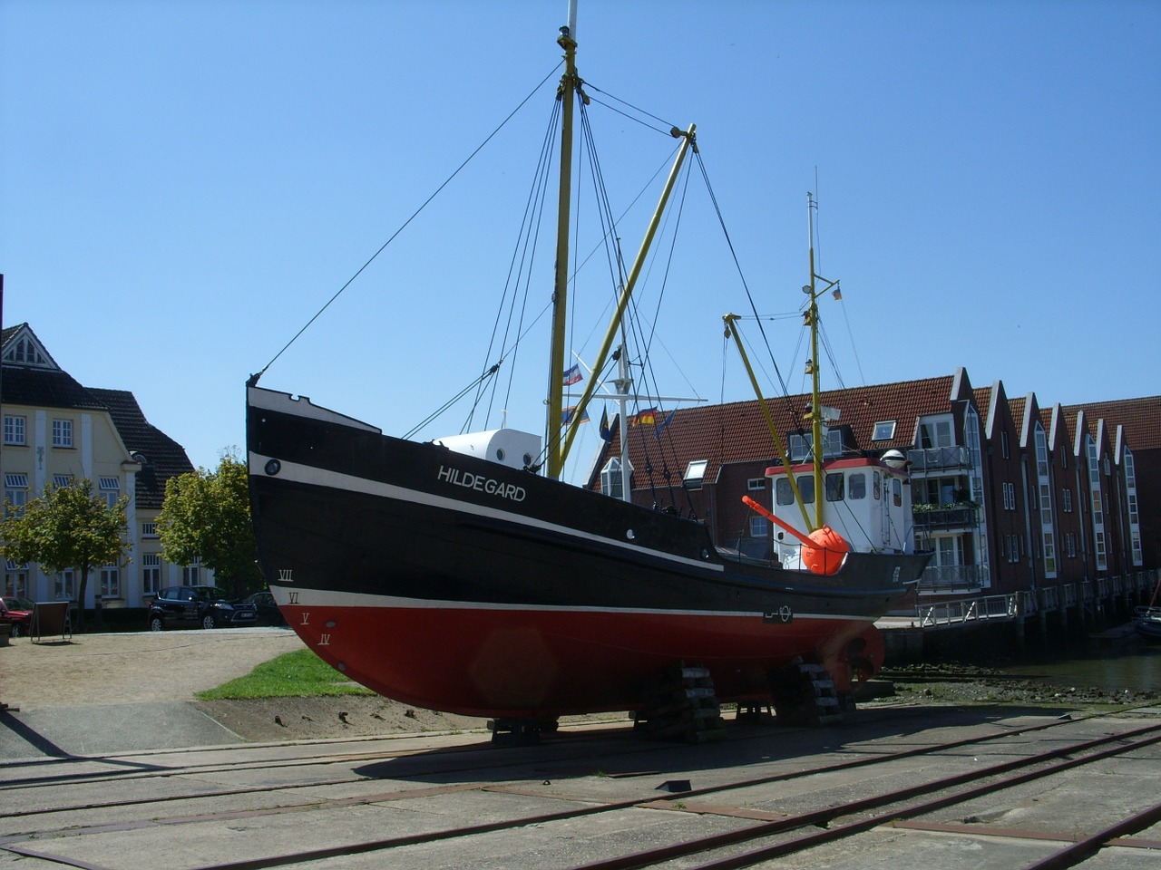 hildegard ship husum free photo