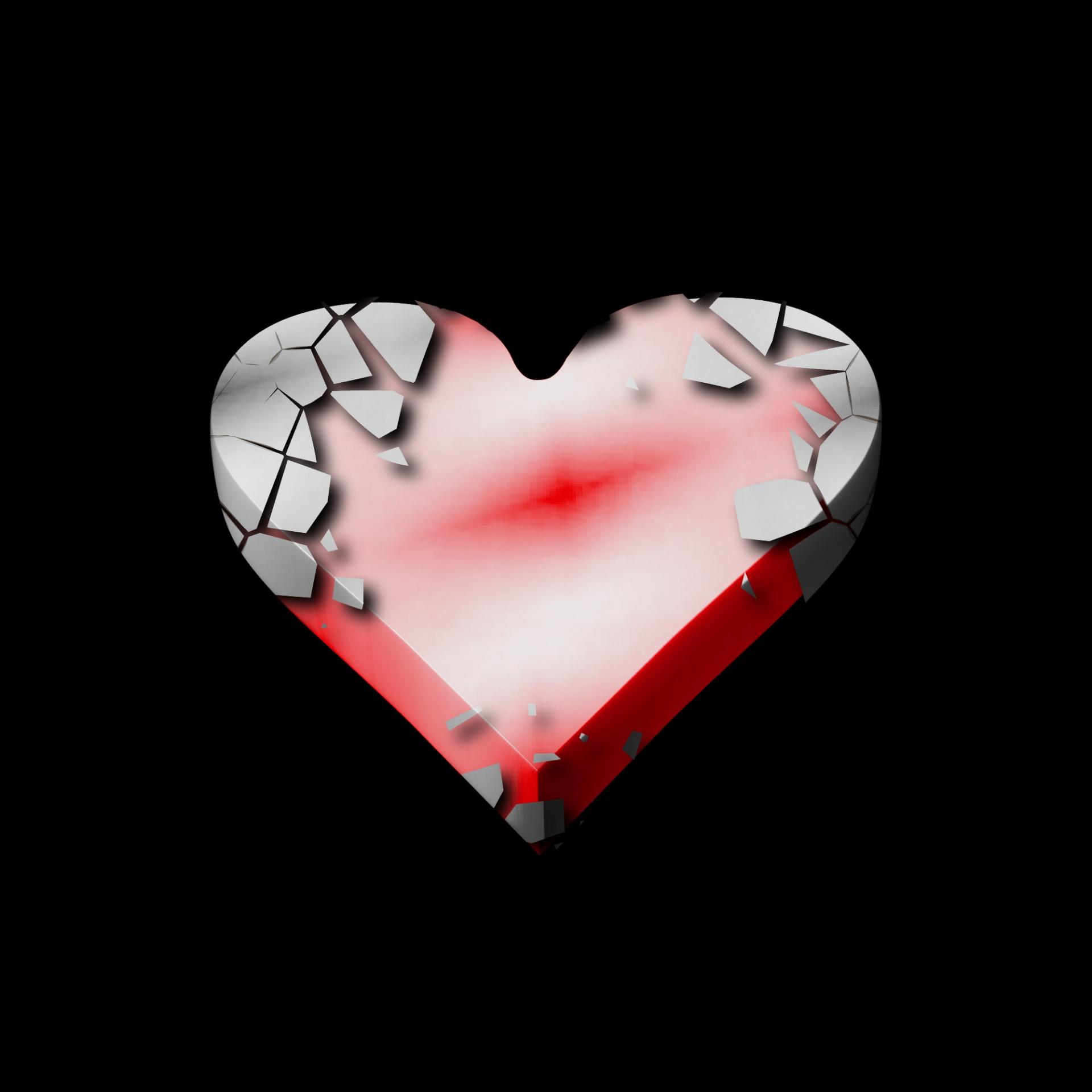 раздел для фотки картинки разбитое сердце в приложении тому