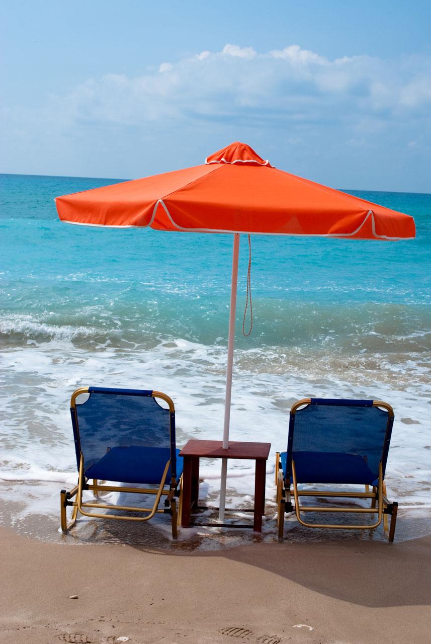 Beach,umbrella,chair,chairs,sea - free image from needpix.com