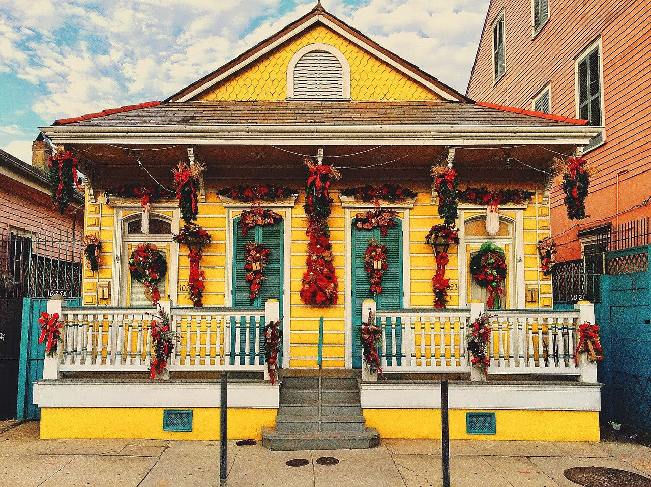 home decorated new orleans free photo