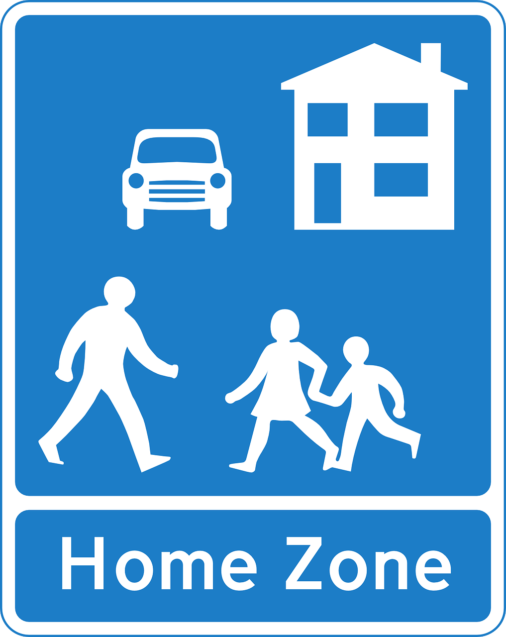 home,road,information,warning,zone,free vector graphics,free pictures, free photos, free images, royalty free, free illustrations, public domain