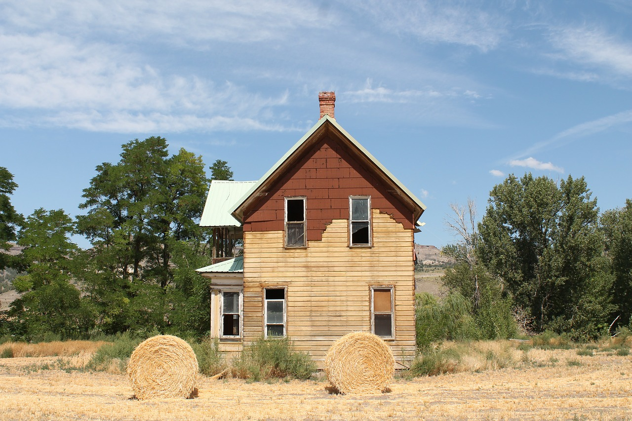 homestead rural country free photo