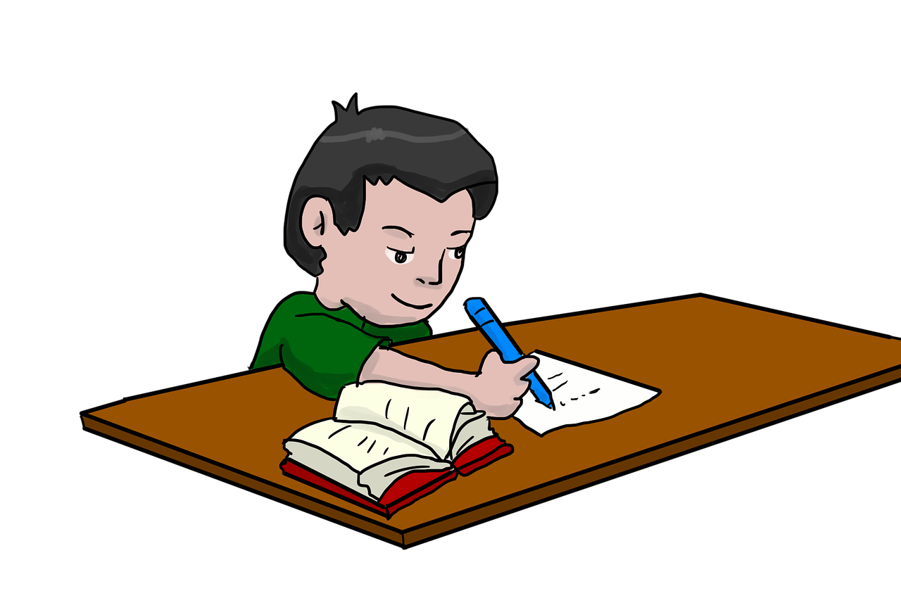 homework, study, student, school, schoolwork, writing, reading, studying, learn, learning, education, educate, work, working, cartoon, drawing, free drawings, Free illustrations,free pictures, free photos, free images, royalty free, free illustrations, public domain