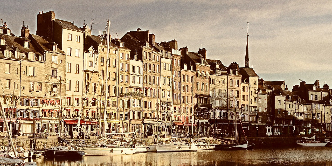 honfleur sea france free photo