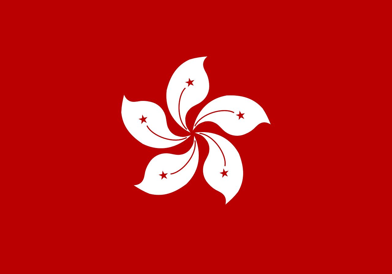 hong kong flag region free photo