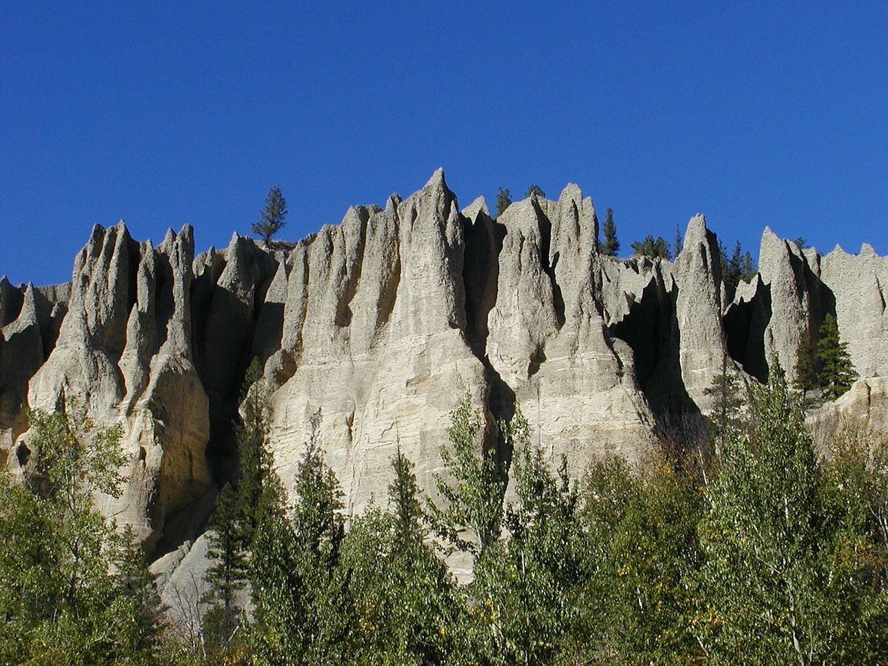 hoodoos landform erosion free photo