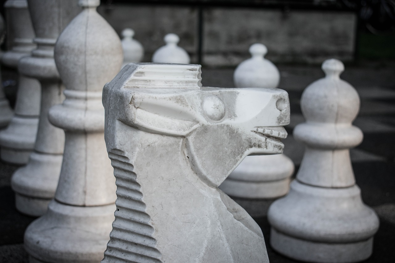 horse  chess  chess piece free photo