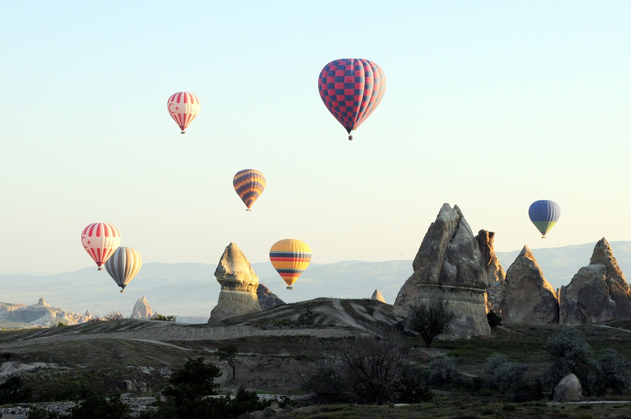 100 hot air balloons daily? Wishing one of them has you in it? Same! Source: NeedPix