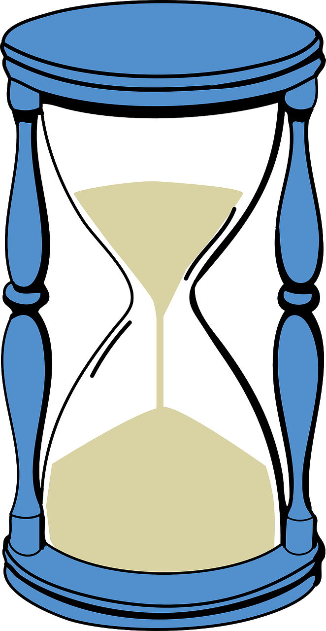 hourglass sandglass timer free photo