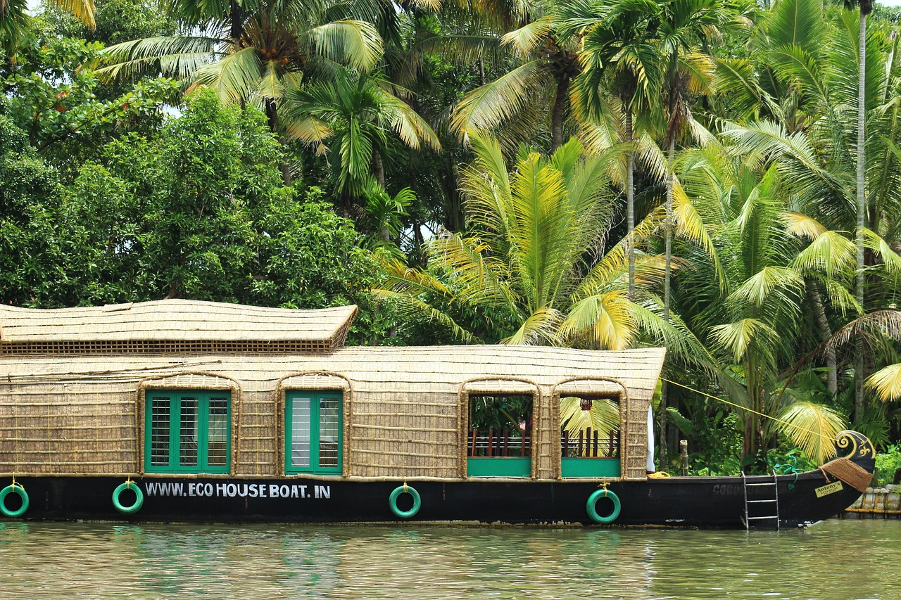 houseboats,india,boats,kerala,free pictures, free photos, free images, royalty free, free illustrations