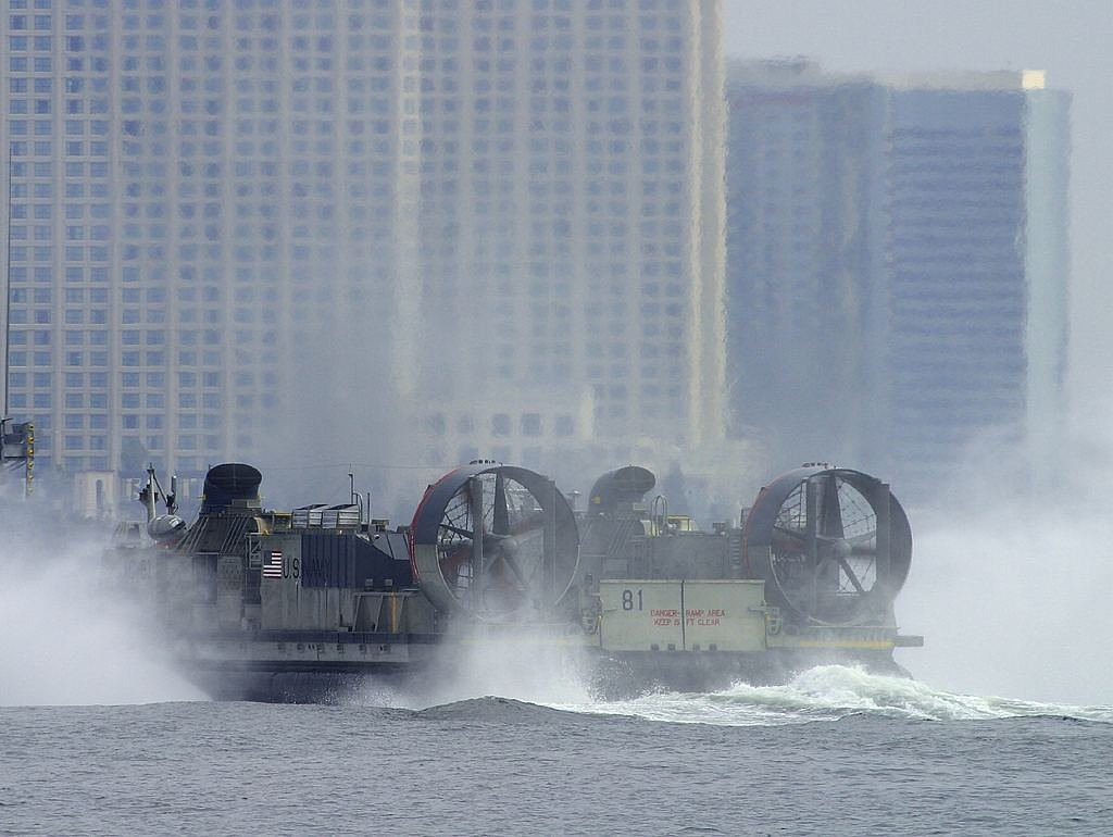hovercraft float glide free photo