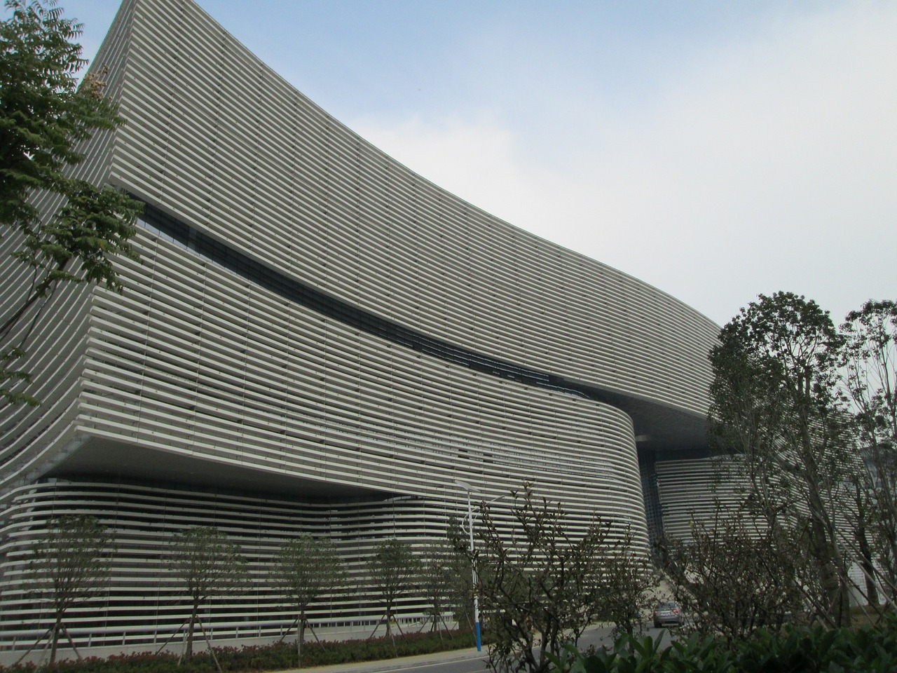 hubei provincial library building library free photo