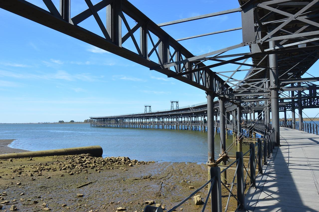 Huelva,spring,sky,bridge,boat - free image from needpix.com