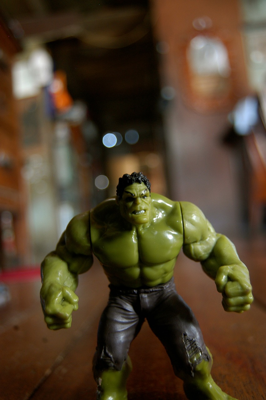 hulk strength muscular free picture