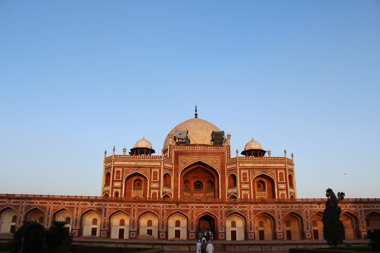 humayun's tomb india monument free picture