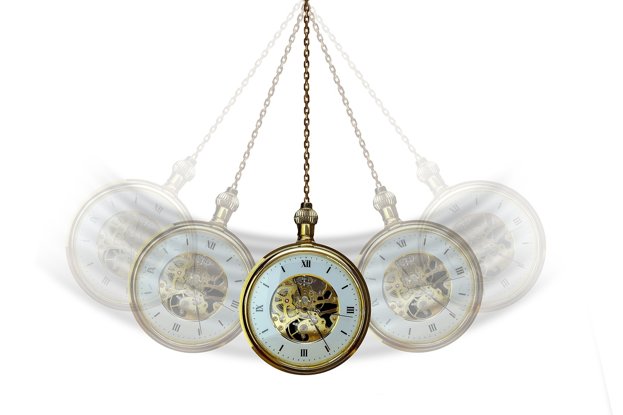 hypnosis  clock  pocket watch free photo