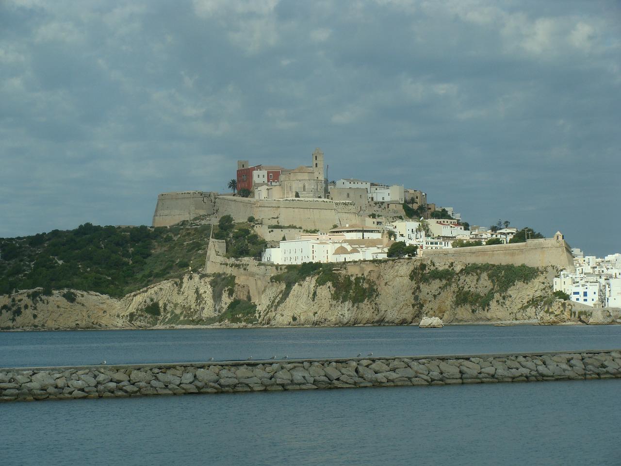A view of Dalt Vila