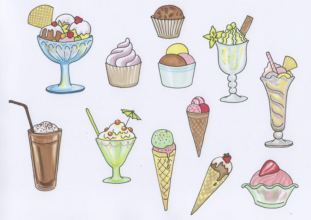 ice,ice cream sundae,cream cups,dessert,ice cream,soft ice cream,sweet,frozen,ice cream with cream,sweetness,whipped cream,schokoeis,fruit cup,free pictures, free photos, free images, royalty free, free illustrations, public domain