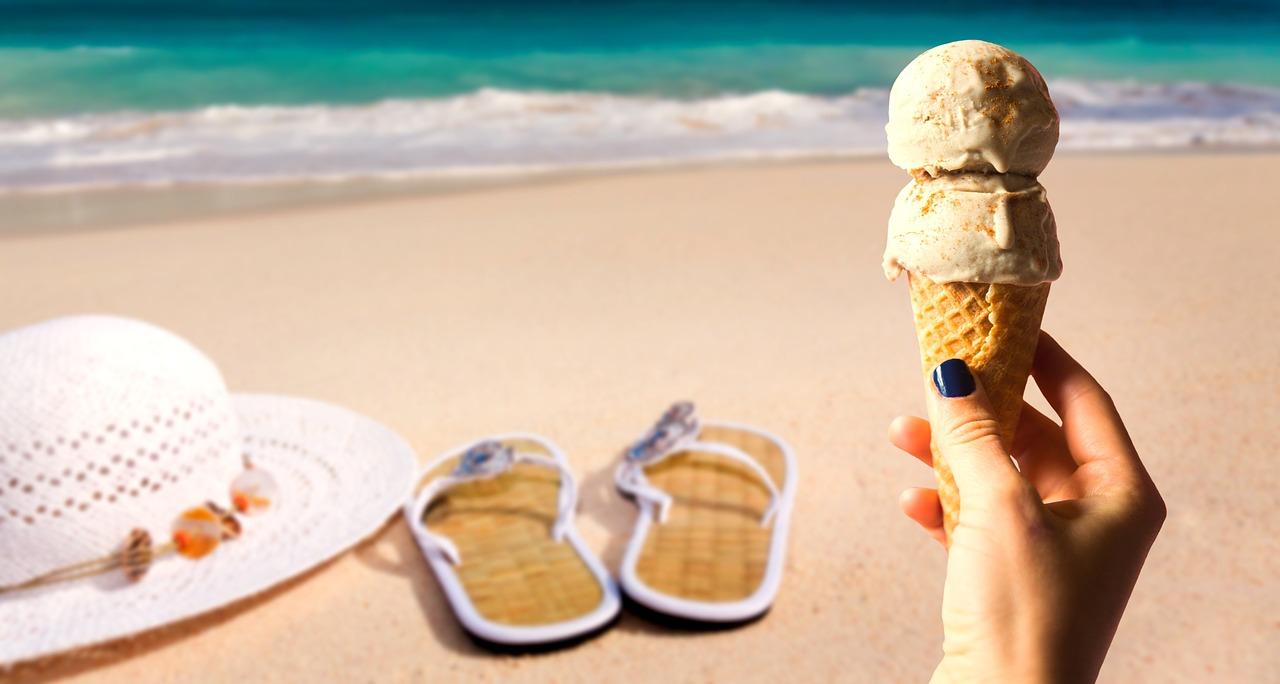 Ice,summer,delicious,ice cream cone,sky - free image from needpix.com