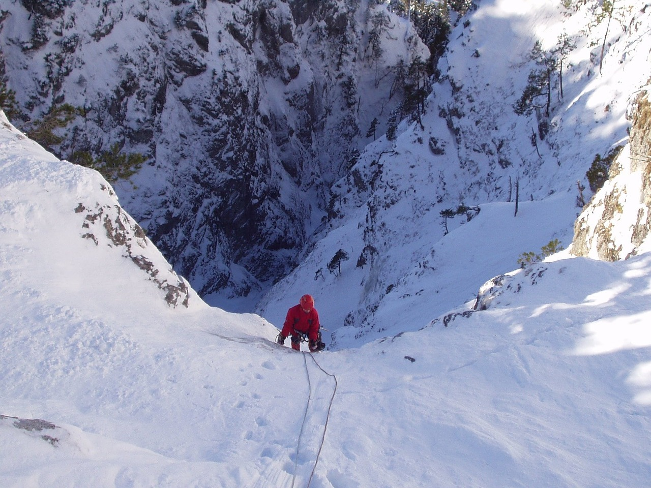 ice climbing alpinism bergsport free photo