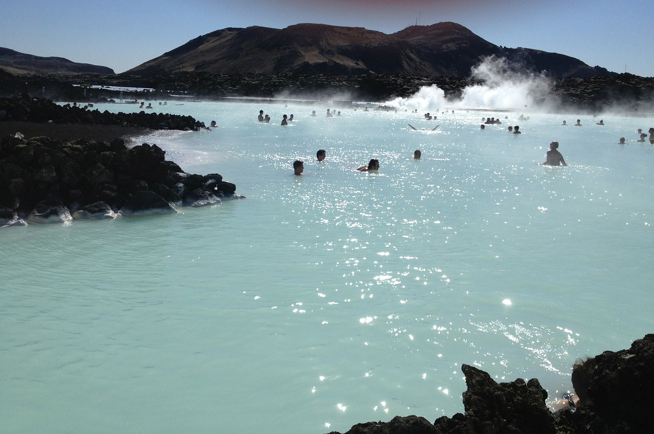 iceland blue lagoon water free photo