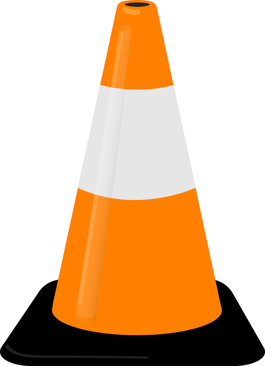 traffic cone,safety cone,road cone,highway cone,warning,parking cone,free vector graphics,free pictures, free photos, free images, royalty free, free illustrations, public domain