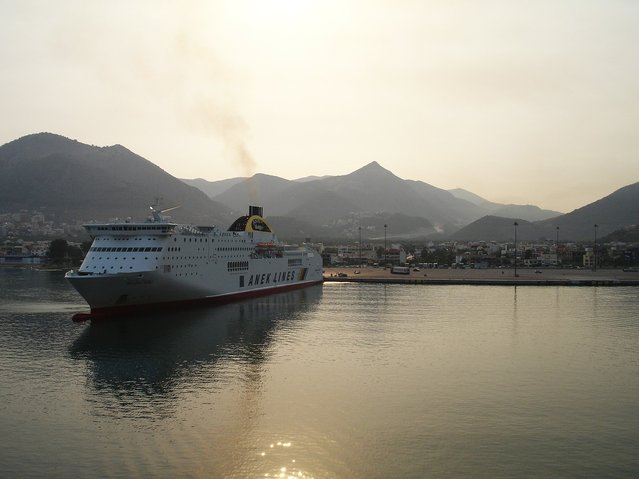 igoumenitsa greece ferry free photo