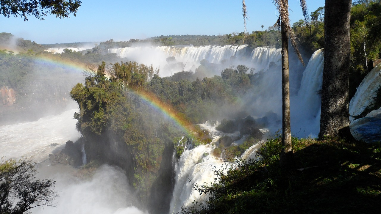 iguazu river falls free photo