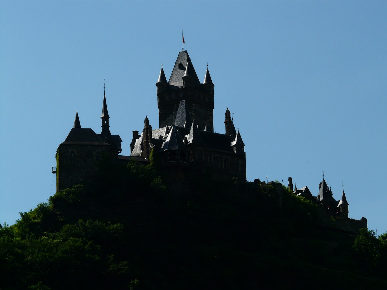 imperial castle castle cochem free photo