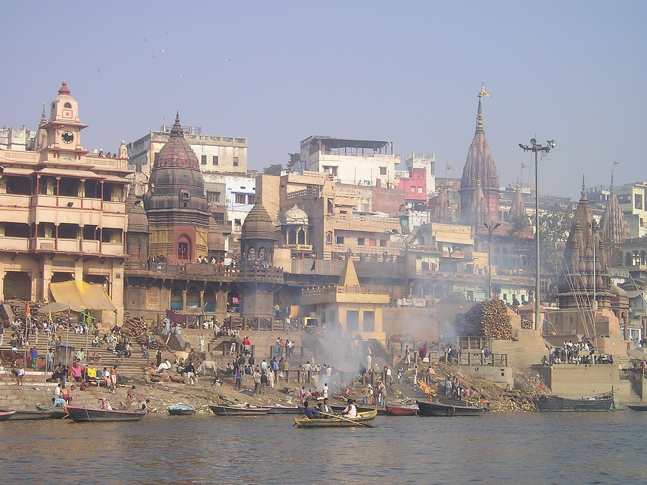 india ganges holy free photo