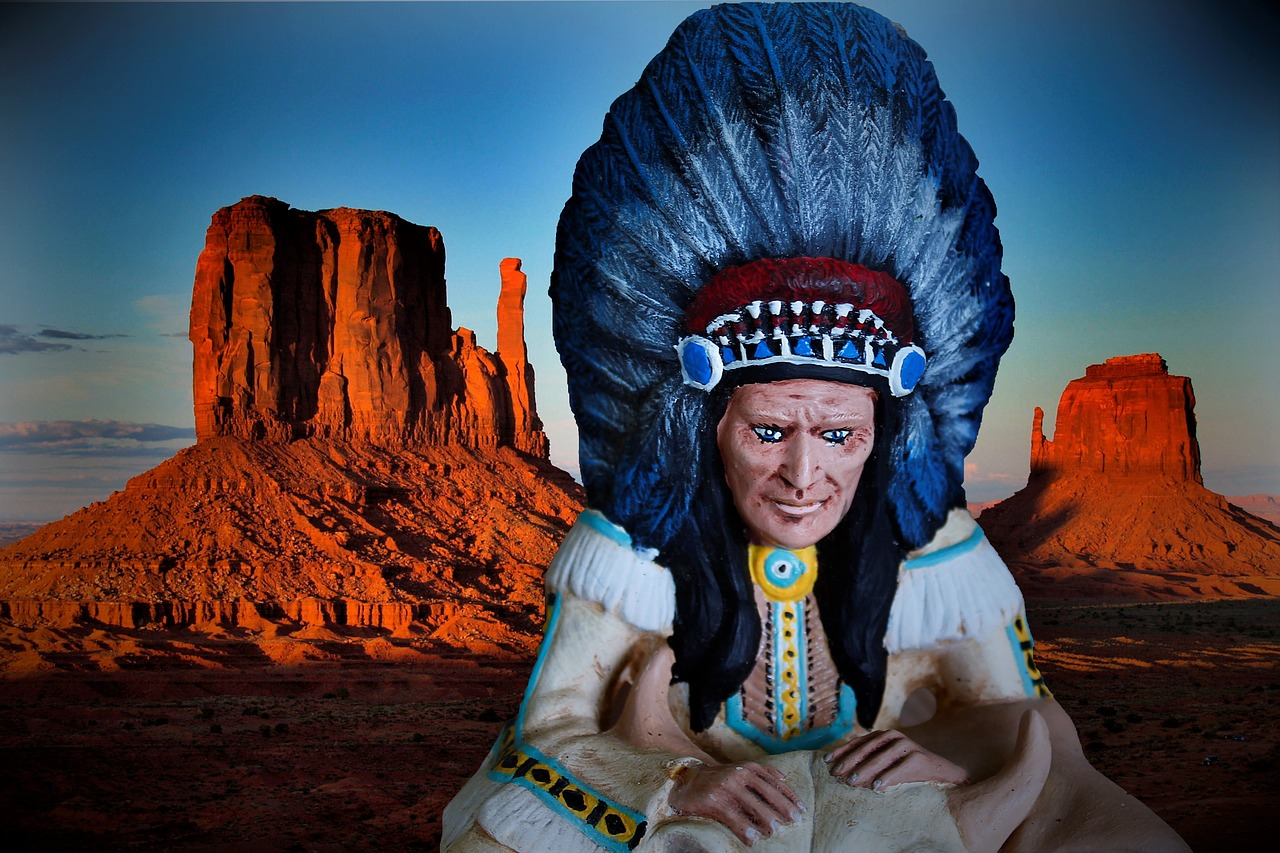 indians west america free photo