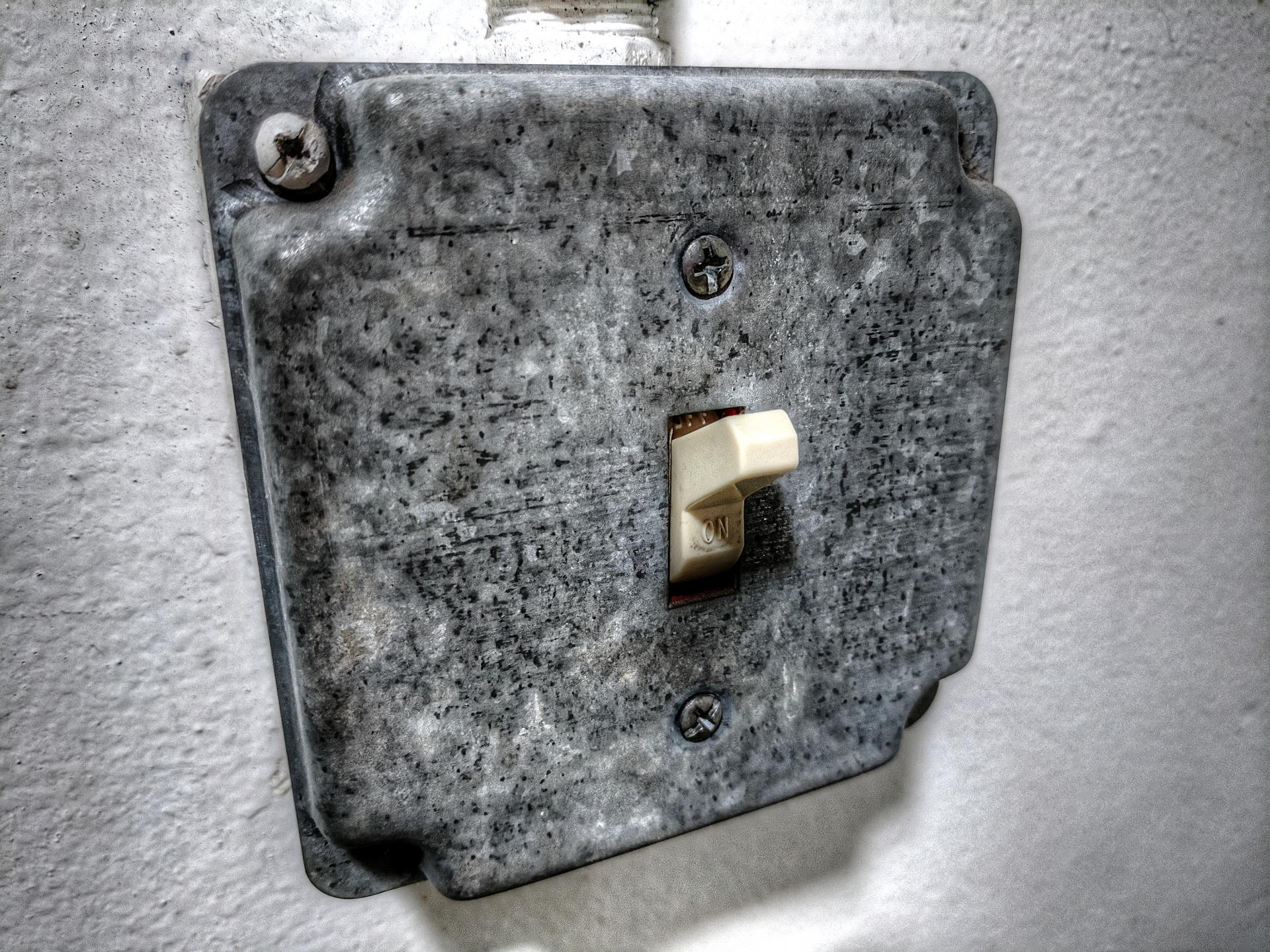 Light,light switch,metal box,metal,grunge - free photo ...