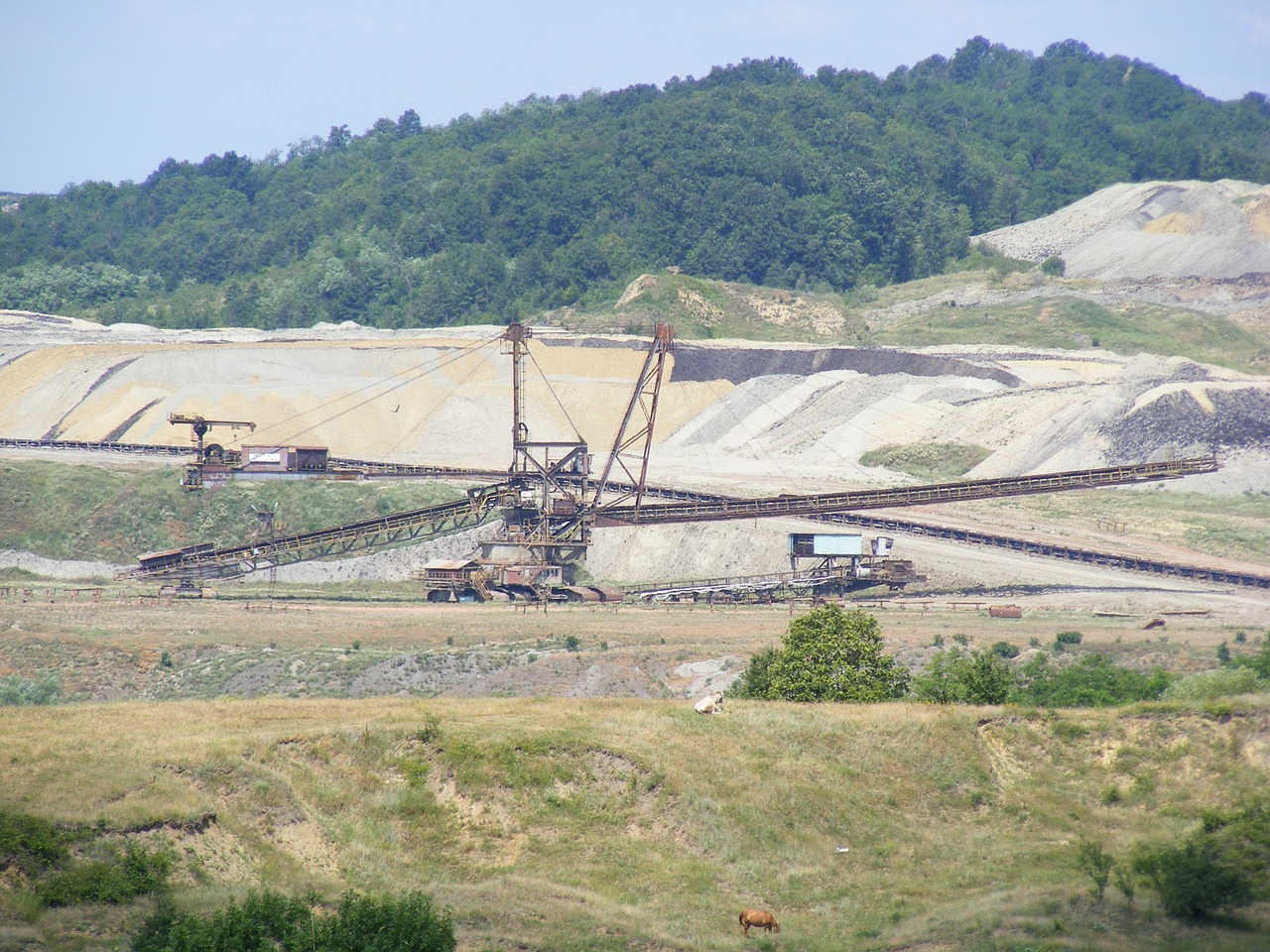 industries coal mining free photo