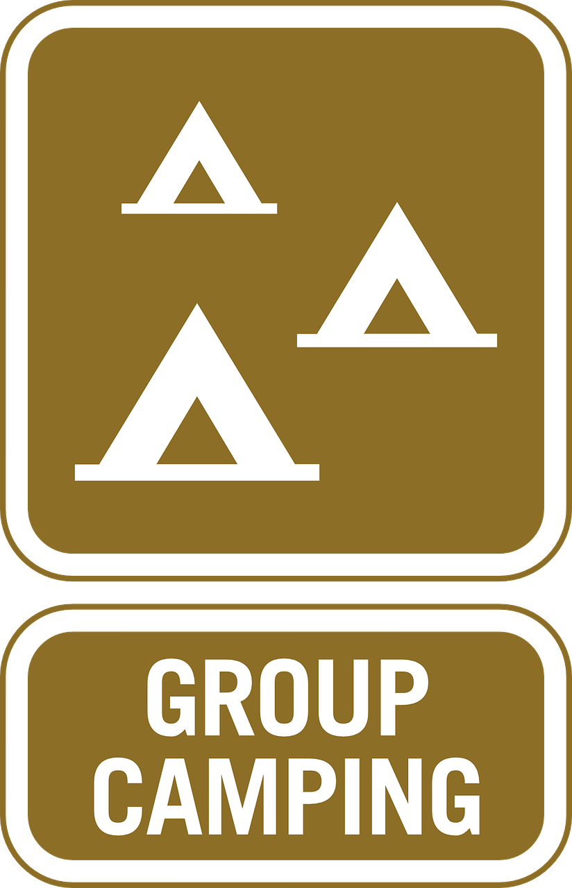 information group camping free photo