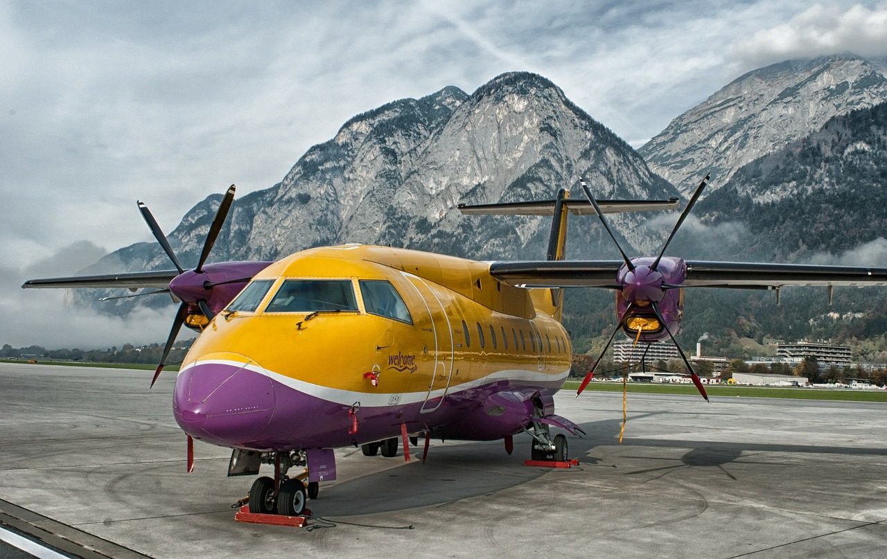 innsbruck austria airport free photo