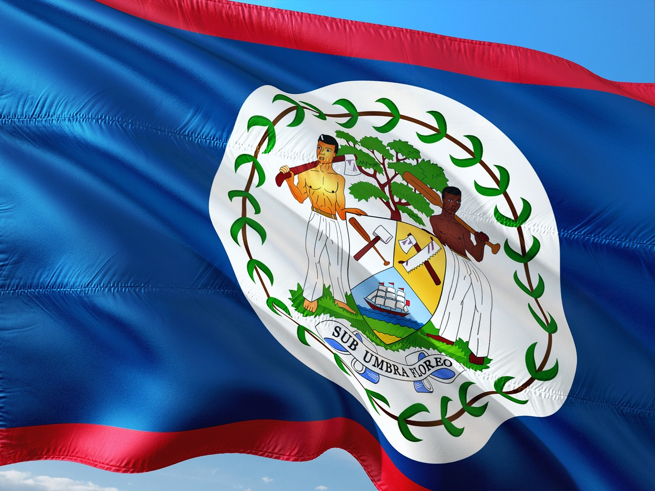 international flag belize free photo