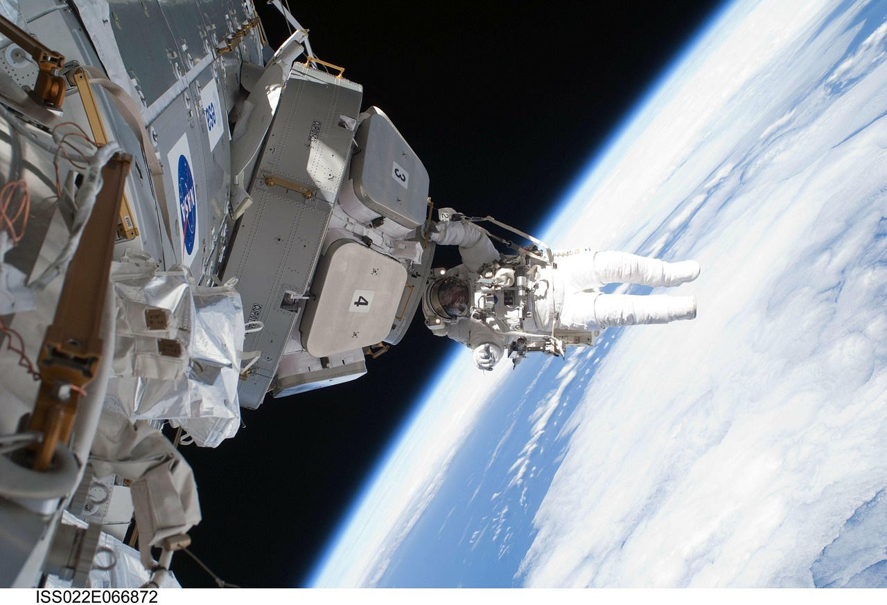 international space station iss astronaut free photo