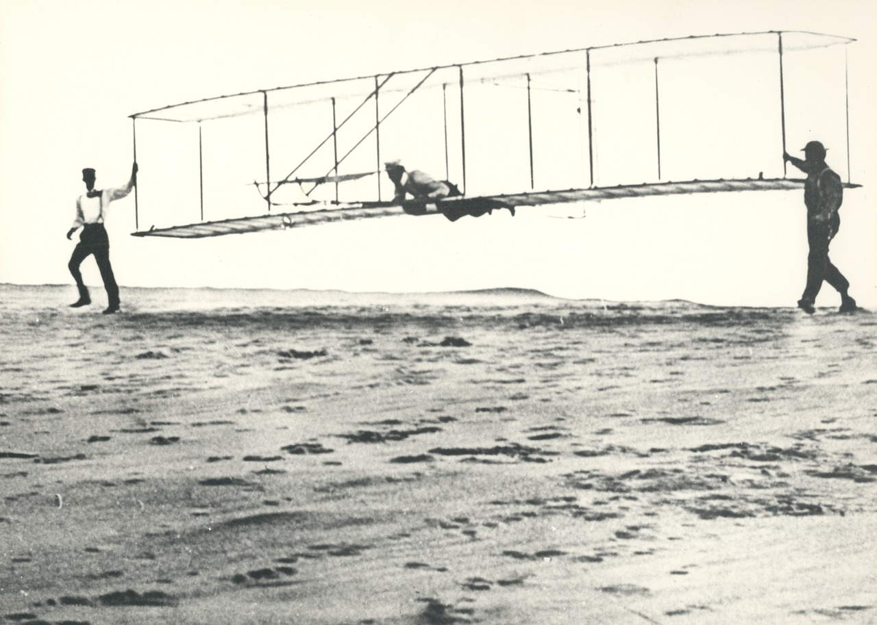 invention wright brothers aircraft free photo