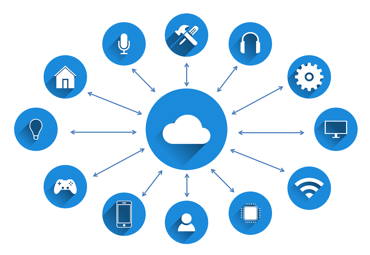 iot  internet of things  network free photo