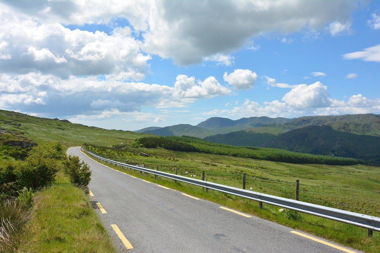 Ireland,pass,pass road,caha pass,mountains - free image from ...