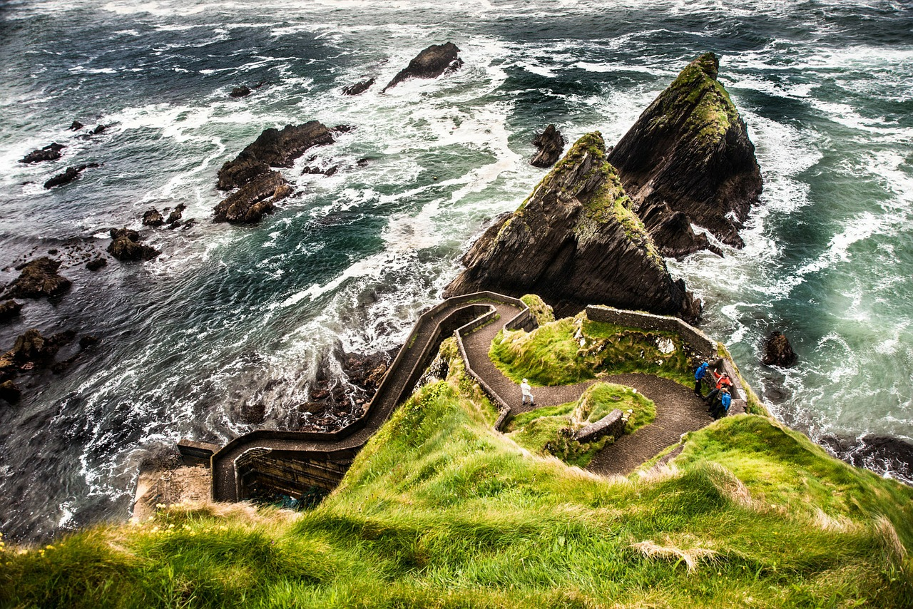ireland dunquin paper dingle iceland free photo