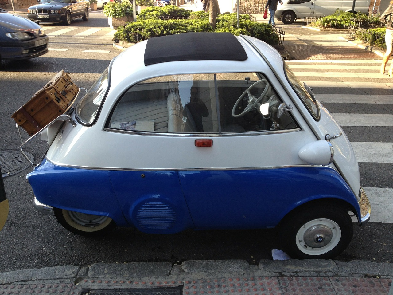 isetta bmw auto free photo