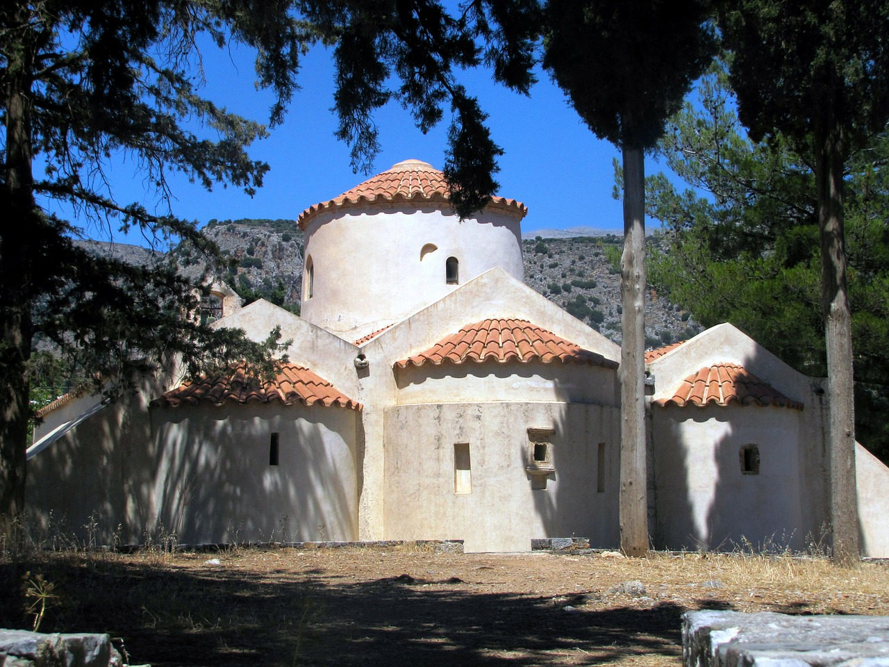 island of crete holiday panagia kera free photo