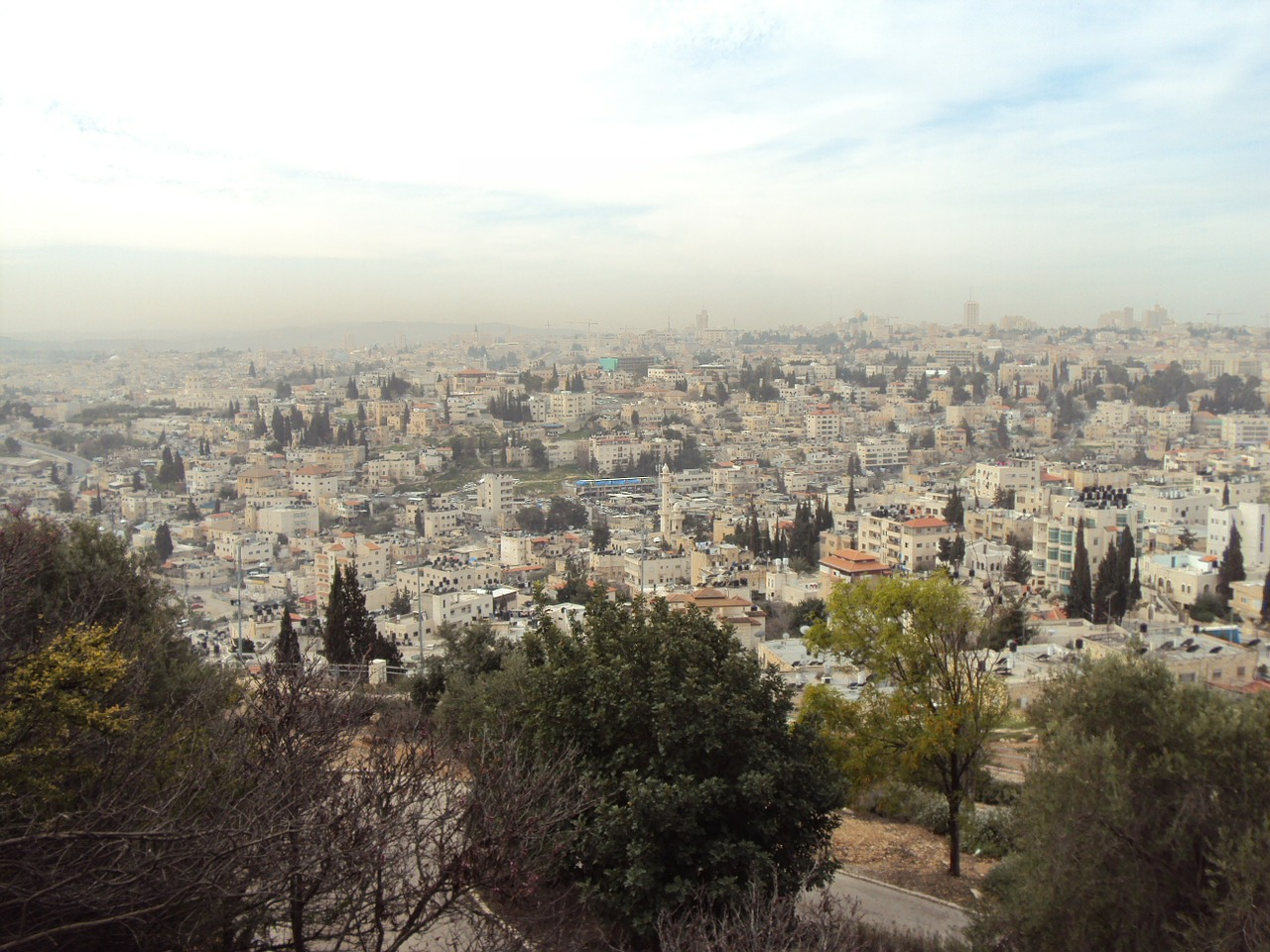 israel holy land view free photo