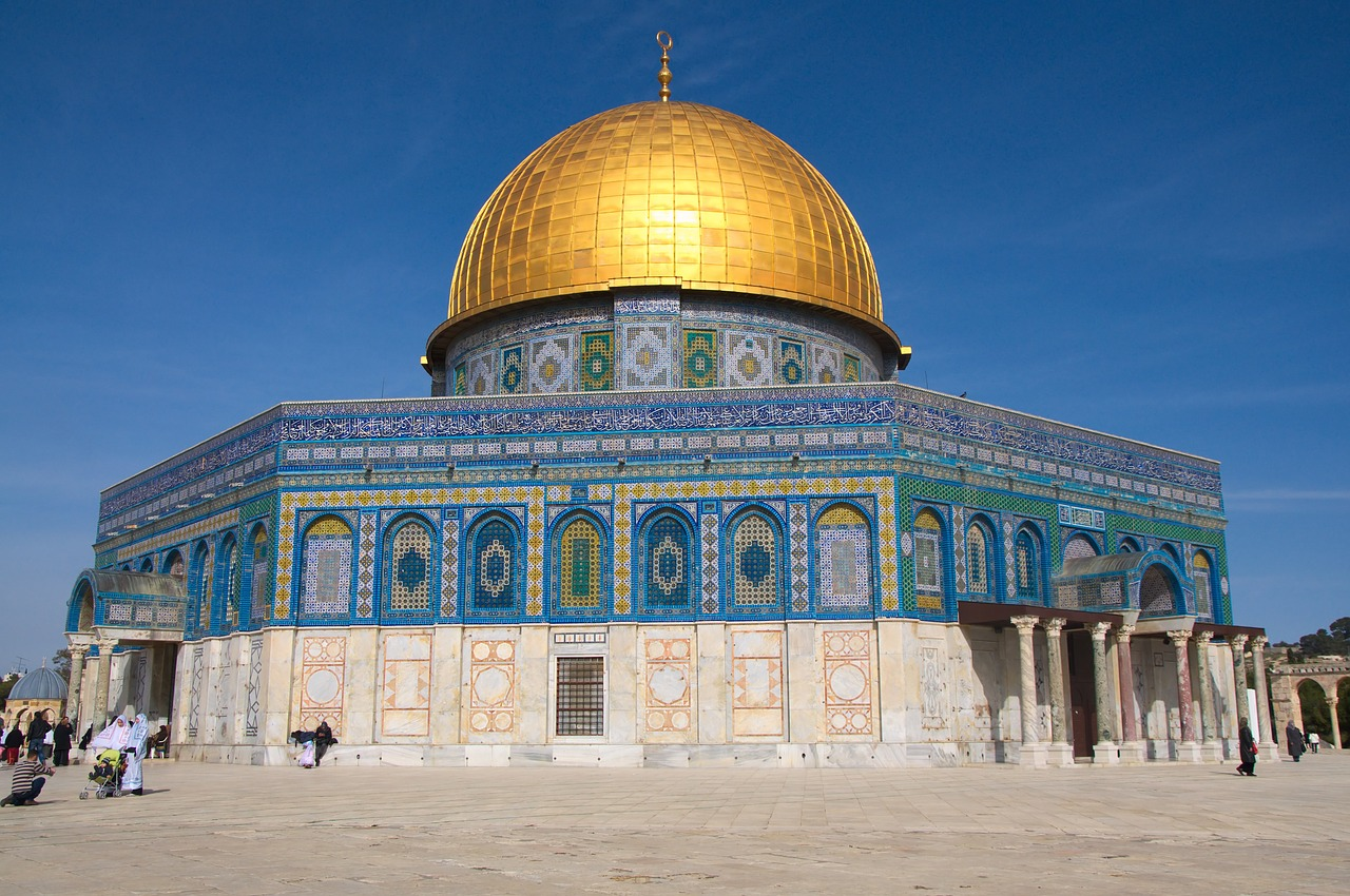 israel dome of the rock jerusalem free photo