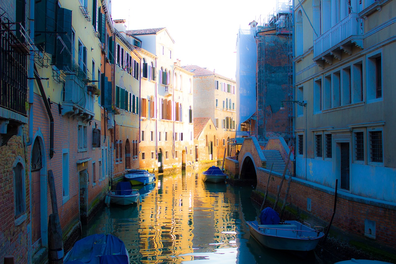 italy venice channel free photo